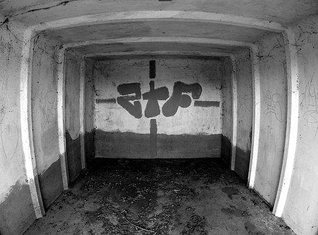 Graffiti, Black, White, Abstract, Black White, Lines