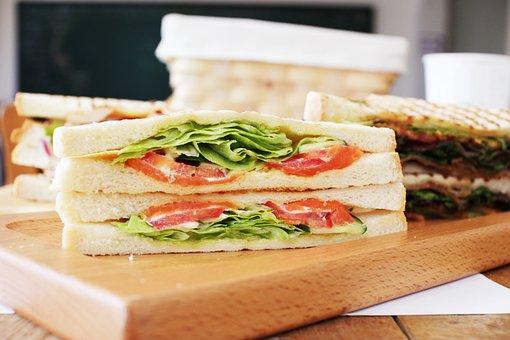 Sandwich, Food, Coffee Hall