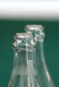 Bottles, Bottle, Bottleneck, Drink, Empty, Glass Bottle