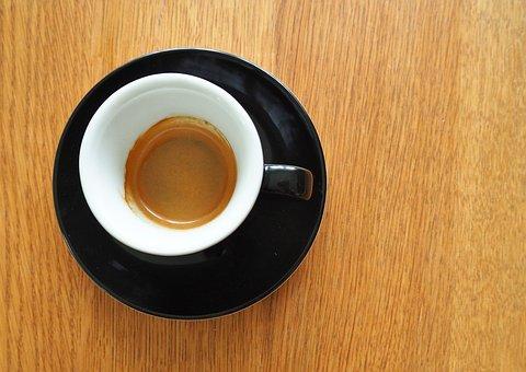 Coffee, Espresso, Drink, Cup, Italian Coffee, Wood