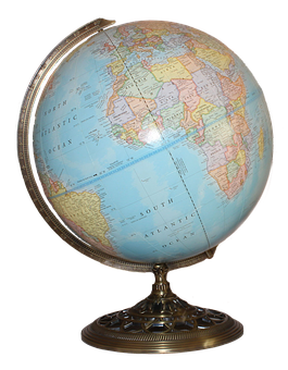 Globe, World, Png, Map, Earth, Planet, Sphere