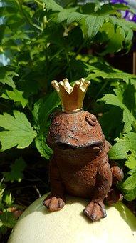 Frog, Frog Prince, Golden Crown, Sad