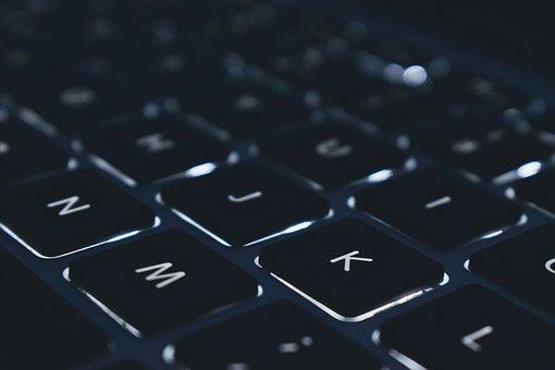 Keyboard, Computer, Keys, Lyrics, Portable, Technology