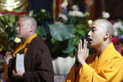 Buddhism, Monks, Monk, Monastery, Han Pass