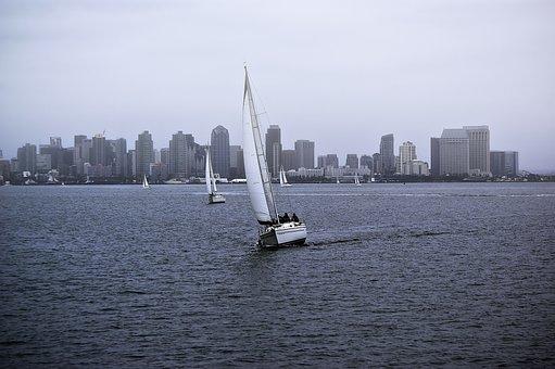 Sky, Speed, Sport, Success, Ship, Seascape, Sail