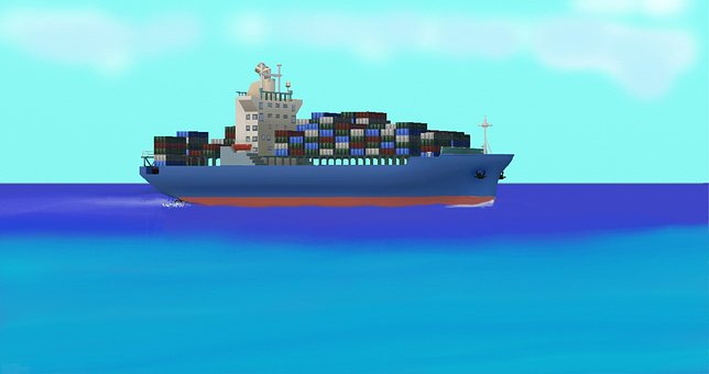 Ship, Container, Shipping, Container Ship, Frachtschiff