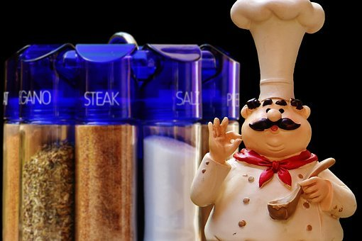 Spice Rack, Cooking, Figure, Spices, Preparation, Eat