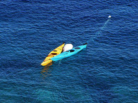 Kayak, Sea, Water, Sport, Kayaking, Adventure, Boat