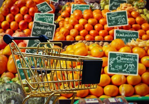 Shopping, Fruit, Vegetables, Business, Retail
