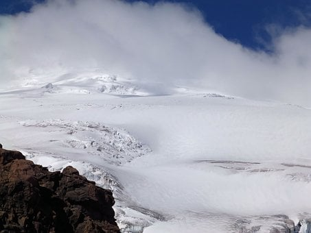 Cayambe, The Glacier, Mountain, Mountains, Volcano