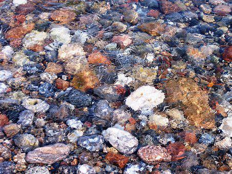 Water, Stones, Nature, Sea, Pebble, Bank, Coast