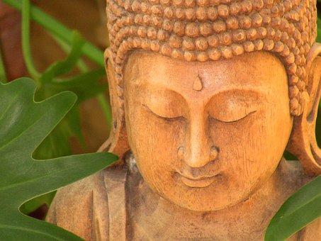 Carved, Buddha, Bali