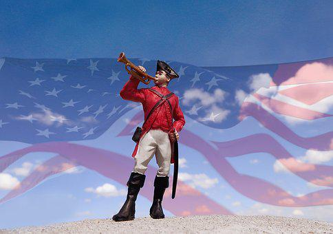 Bugle, Soldier, American, Trumpet, Military, Horn, Army
