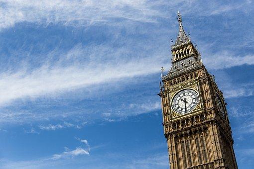 London, Big Ben, Clock, Parliament, United Kingdom