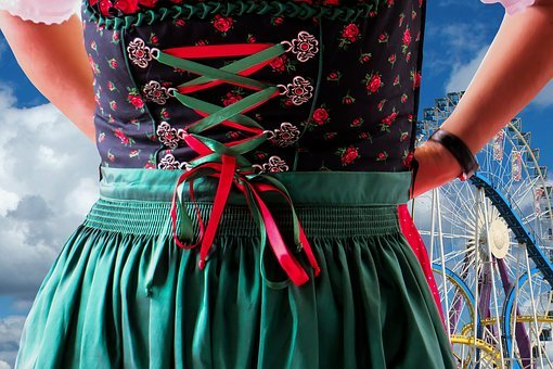 Dirndl, Costume, Tradition, Bavaria, Clothing