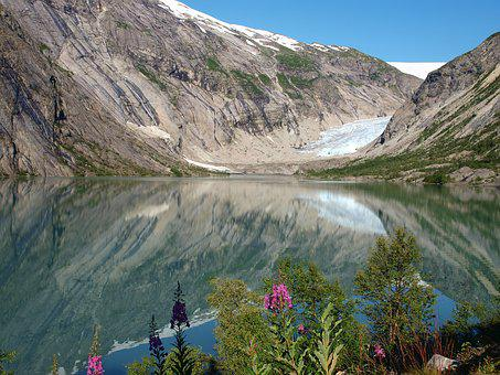 Nature, Glacier, Norway