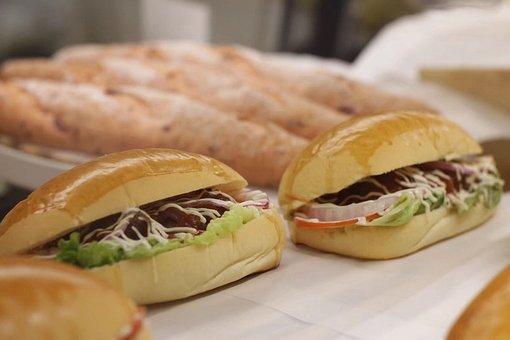 Gourmet, Bread, Sandwich