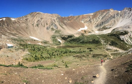 Trail, Alpine, Mountain, Nature, Hiking, Travel