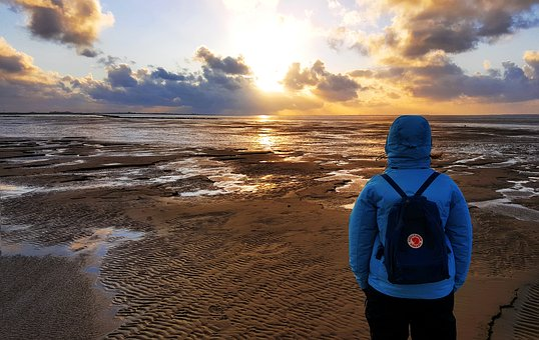 North Sea, View, Horizon