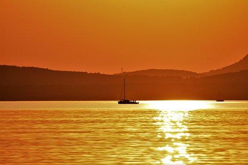 Lake Balaton, Nature, Landscape, Travel, Water, Ocean