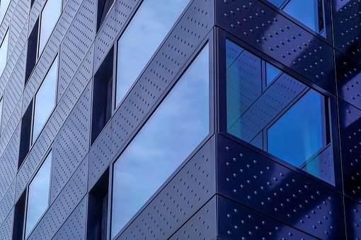 Building, Tower, Glass, Reflection, Architecture