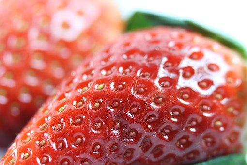 Strawberry, Red, Fresh, Closeup, Organic, Healthy