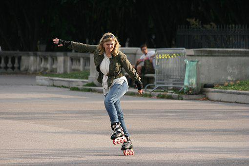 Inline, Skating, Balance, Fitness, Inline Skating