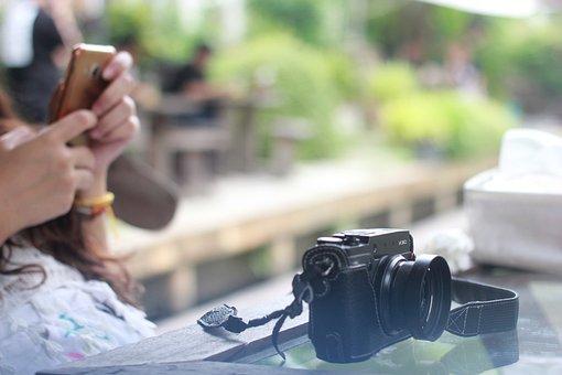 The Camera, Camera Film, Nature, Lens Graphics, Garden