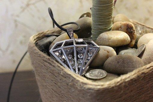 Jewelry, Crystal, Necklace, Bijouterie, Stone, Ornament