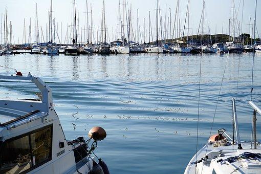 Marina, Waves, Reflections