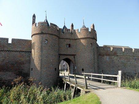 Building, Castle, Port, Historic Building, History