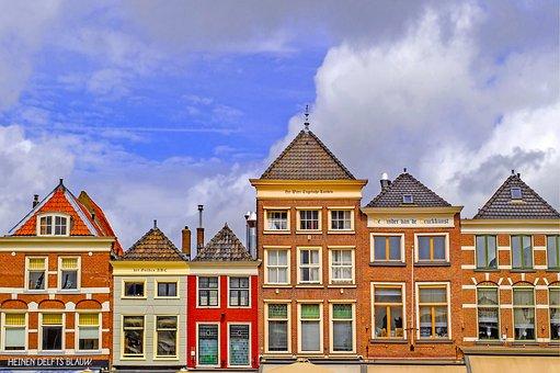 Place, Facade, Cityscape, Town, House, Building, Brick