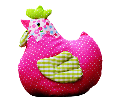 Easter, Chicken, Decoration, Funny, Fabric, Tissue