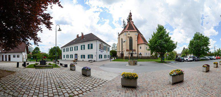 Panorama, Fernitz, Church, Space, Styria
