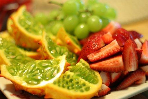 Fruit Tray, Healthy, Food, Unprocessed, Organic