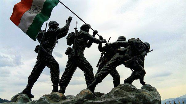 Indian Flag, Indian Army, Statue, Independence Dag