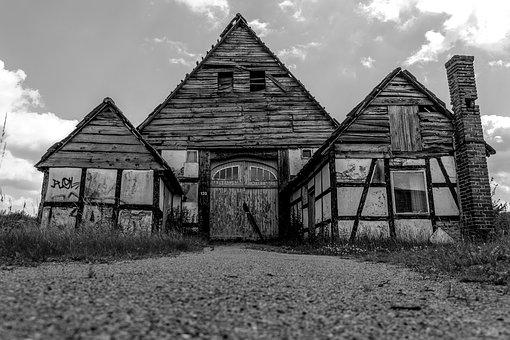 Home, Leave, Old, Old House, Lapsed, Building