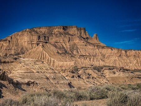 Desert, Mountain, Landscape, Mountain Landscape, Nature