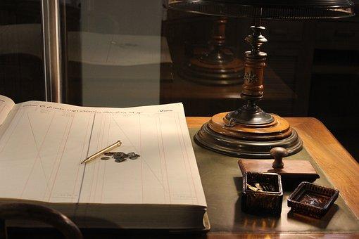 Pen, Notebook, The Work, Bank, Museum