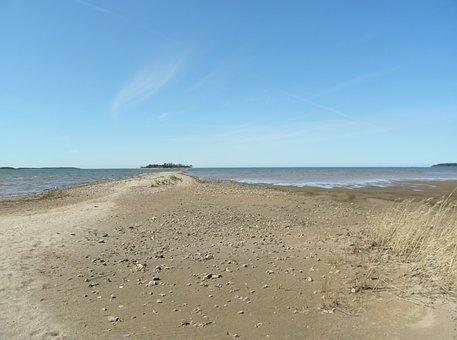 Sea, Sand, Beach, Island, Beach Sand, Landscape, Sky