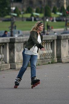 Skates, Roller, Roll, Skating, Fun, Sport, Sporty