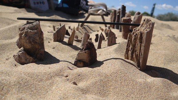 Beach, Sand, Sea, Coast, Summer, Stones, Seashells