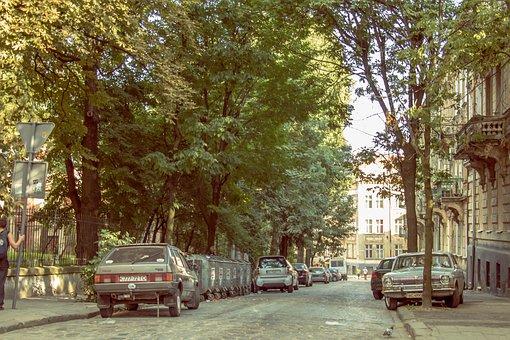 Ukraine, Street, Beautifull, Travel, Building, Urban
