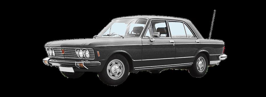 Auto, Vintage Car, Fiat 130, 6-cyl V, 2866 Ccm, 140 Hp