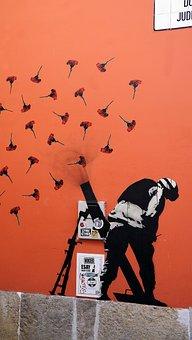 Street, Art, Anti-war, Peace, Graffiti, Artistic