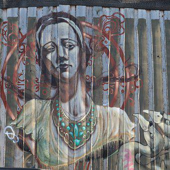 Graffiti, Art, Berlin, Street Art, Urban Art, Facade