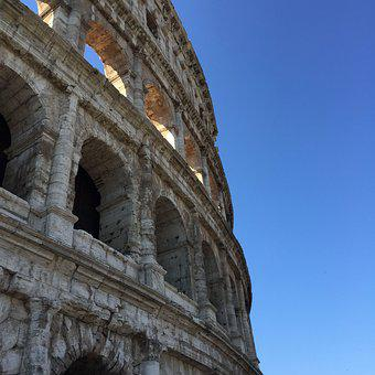 Rome, Colosseum, Italy, Tourism, Ancient, Architecture