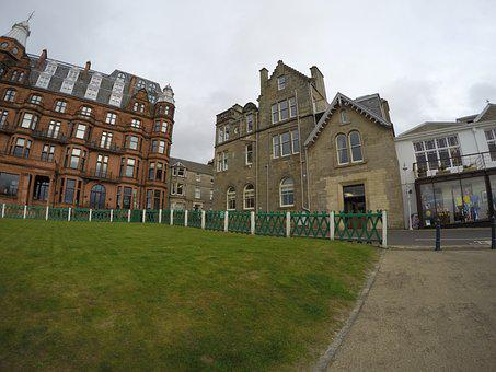 Scotland, Golf, City, Grass, Tourism, Scottish