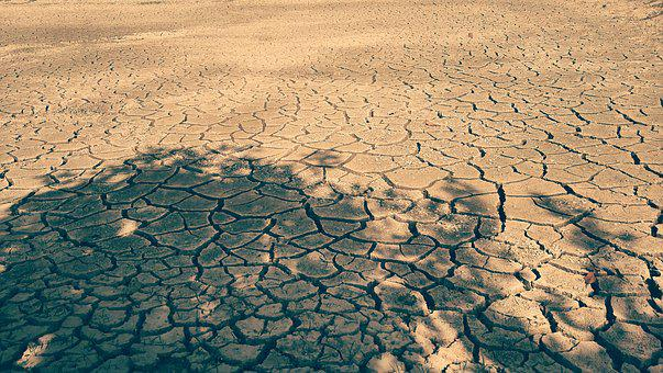 Dried Up, Land, Water