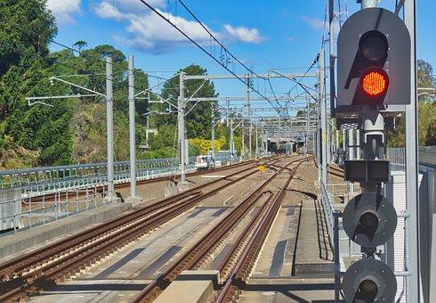 Railroad Tracks, Train Line, Sleeper
